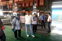 Visitor from Johor Corp 16.10.2012